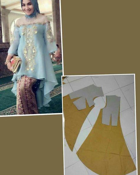 "27 Likes, 1 Comments - Ide Menjahit (@ide_menjahit) on Instagram: ""Pola dress. Silahkan share ke teman2mu Sumber: pinterest #idemenjahit #belajarmenjahit…"""