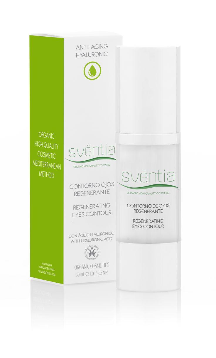 Sventia Hyaluronic anti age eye contour cream 30ml/pokročilá starostlivosť o očné kontúry, prírodná a organická kozmetika - certifikát BDIH