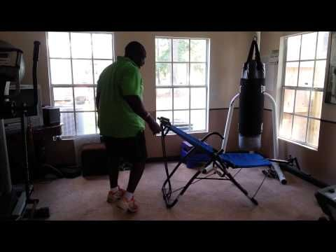 Poor man's Ab Lounger Gym - YouTube