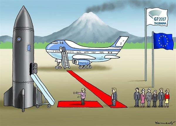 Marian Kamensky - Austria - G7 Red Carpet - English - g7,summit,trump,red carpet,missile