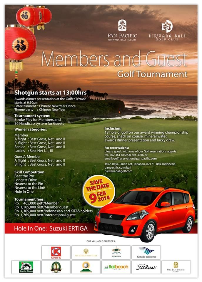 The prestigious Golf Tournament in Asia's World Class Golf Course