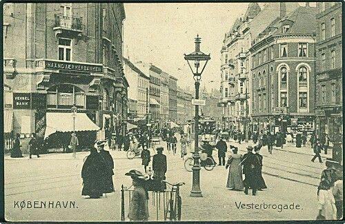 Vesterbrogade i 1908