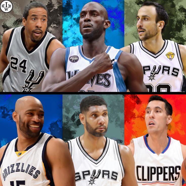 The 6 oldest players of the 2015/16 season.  Andre Miller, Kevin Garnett, and Manu Ginobili VS Vince Carter, Tim Duncan, and Pablo Prigioni.  Who Would Win It?