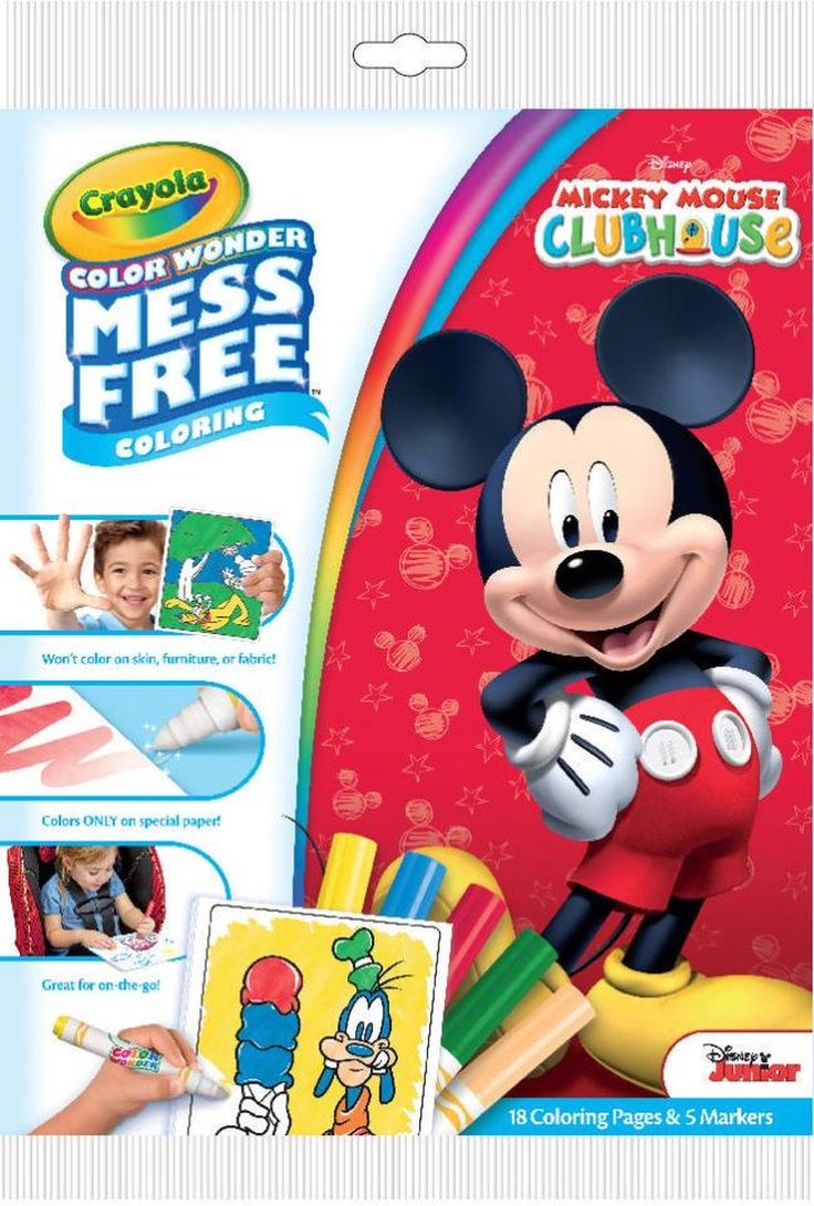 Disney Junior Mickey Mouse Clubhouse Markers and Coloring Book