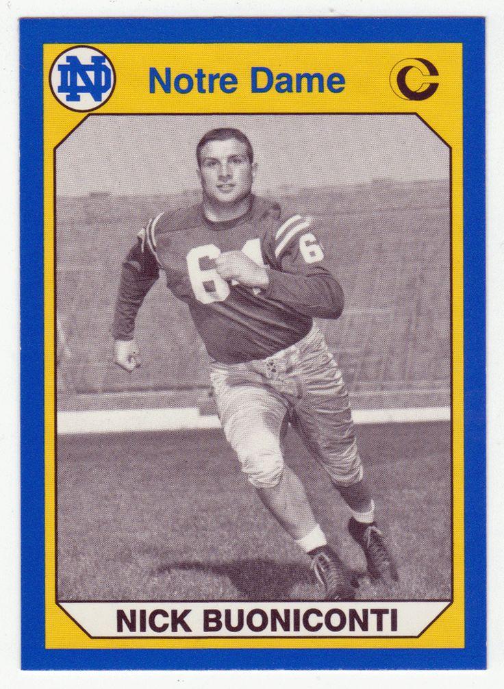 Nick Buoniconti # 112 - 1990 Notre Dame Football