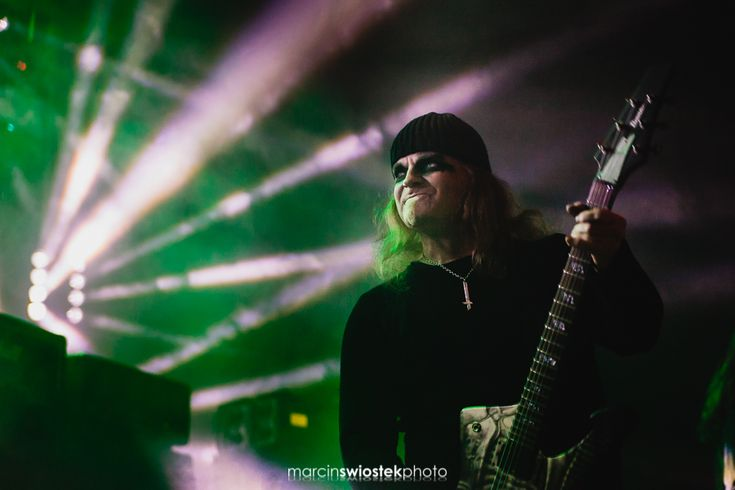Triptykon Metal band performing live.