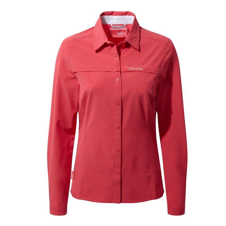 Doorout Angebote Craghoppers Nosilife Pro Langarm Bluse rot Damen Gr. 46: Category: Outdoorbekleidung > Damen > Hemden und…%#Quickberater%