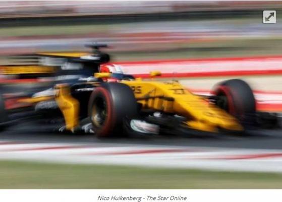 Pebalap tim Formula Satu (F1) Renault, Nico Hulkenberg Berang ke Pebalap Haas