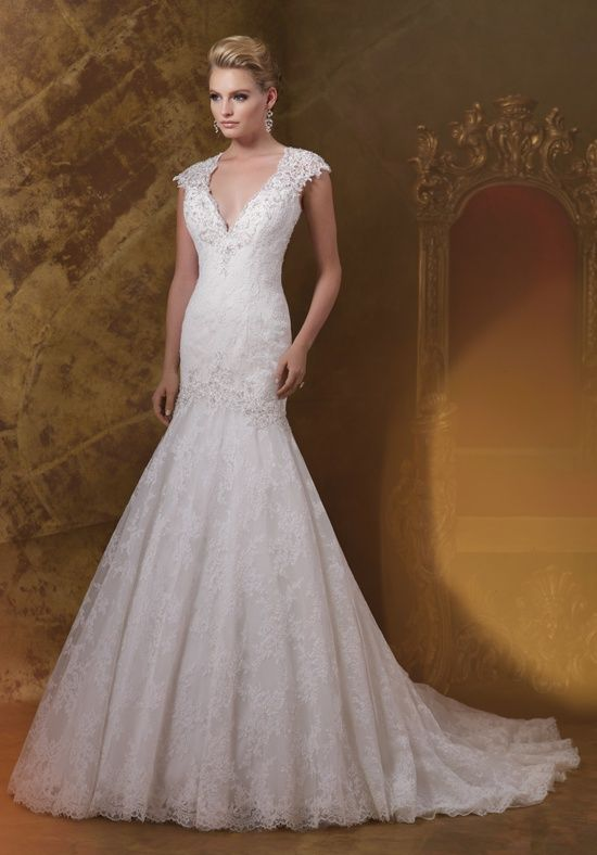 James Clifford Collection J11583 Wedding Dress - The Knot