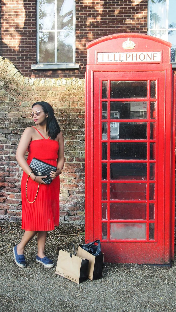 A Red Affair in Covent Garden