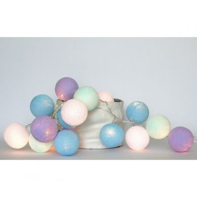 Cotton Ball Lights Lampka z Kul Baby Lavender 20 szt.