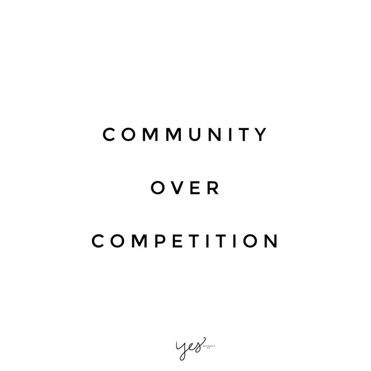 community over competition. For more inspiration, quotes and tips on self-love and business for girlbosses and female creatives check out yessupply.co.
