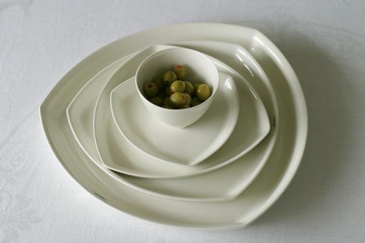 Tri plates by Amfora