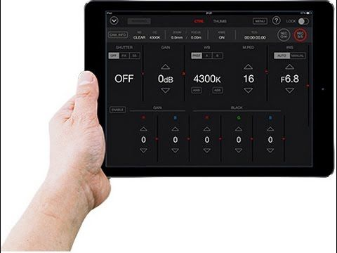 News Panasonic AG-DVX200  Massimo Donato di Adcom introduce rapidamente la App gratis per Ipad (AG ROP) e il nuovo firmware 1.40 Info: https://www.adcom.it/news.php?lang=it&idliv1=5&idn=215
