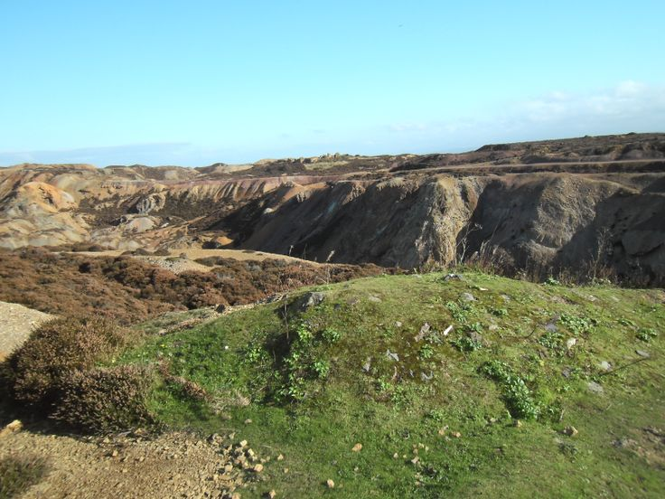 This photograph was taken at Parys Mountain in Anglesey.