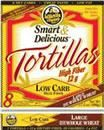 8g of protein + 12g of fiber per large tortilla with only 6g of net effective carbs in my favorite whole wheat tortillas from La Tortilla Factory.