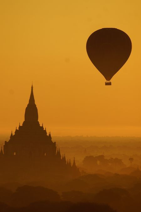 Floating over the sunrise Photo by Helen Pepi -- National Geographic Your Shot