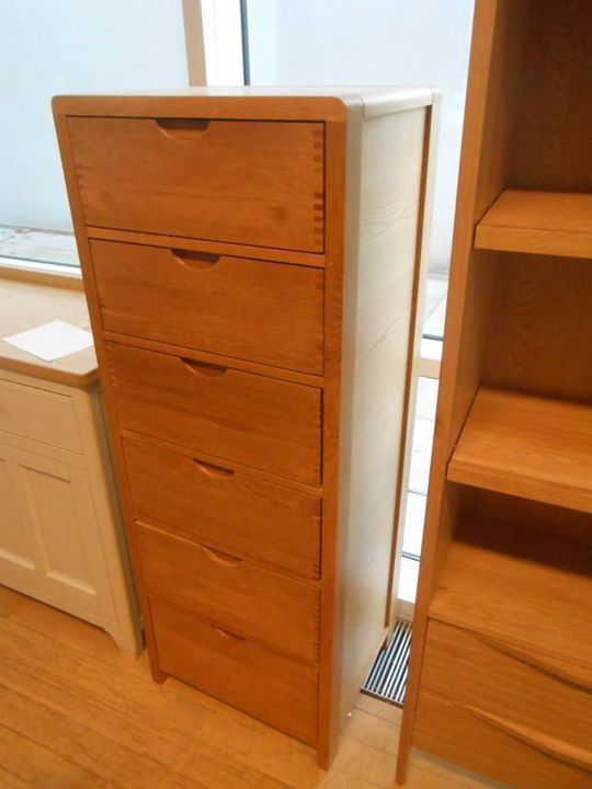 Tall Narrow Chest Of Drawers Ercol Bosco