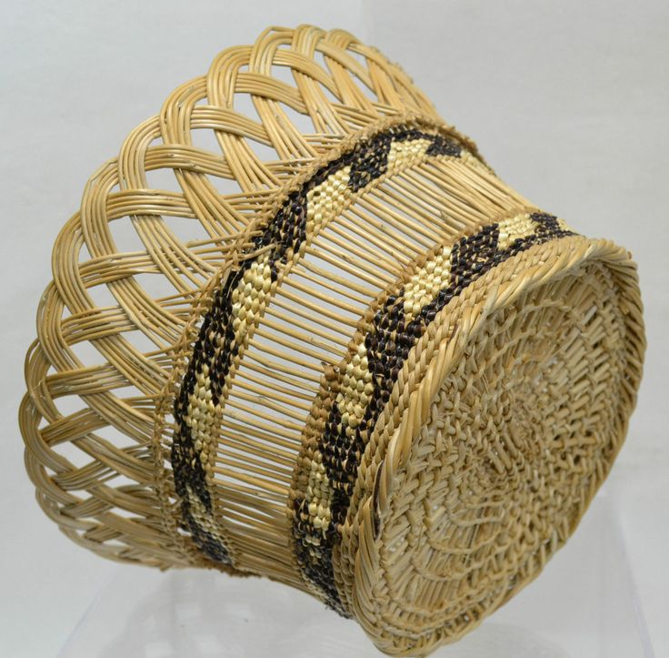 Native American Basket Weaving Instructions : Best kos?r baskets images on