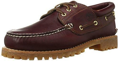 Oferta: 84.3€. Comprar Ofertas de Timberland Authentics FTM_3 Eye Classic Lug - Náuticos para hombre, color marrón (burgundy pull up), talla 46 barato. ¡Mira las ofertas!