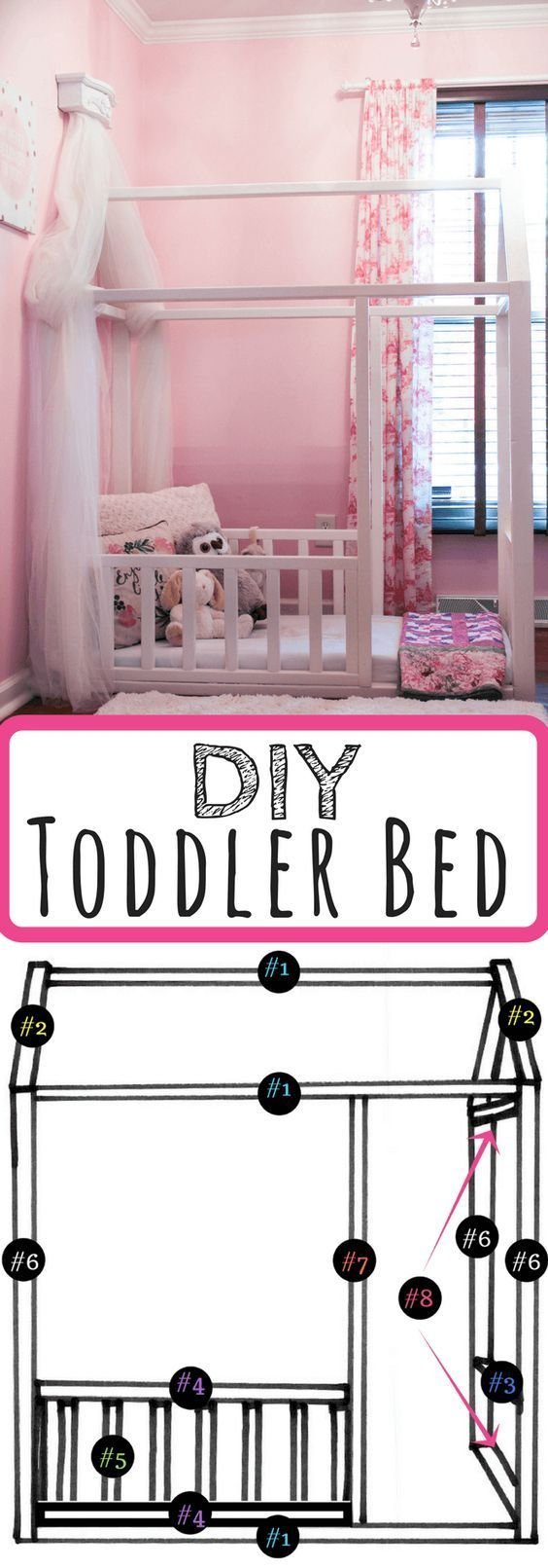 The 25 Best Diy Toddler Bed Ideas On Pinterest