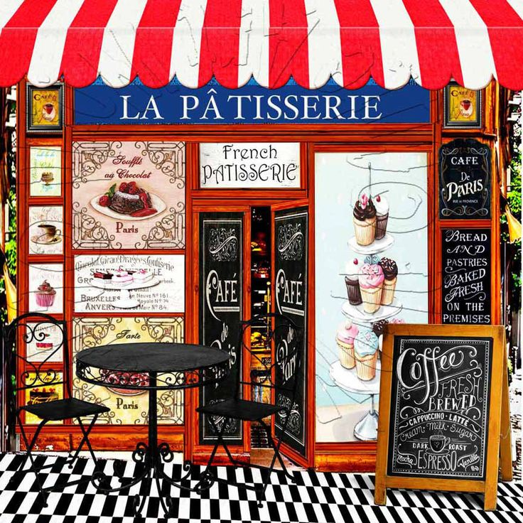 American Girl Doll 2015 Grace's French Bakery La Patisserie Background Scene  #CAWCuteartworld #photographystudiodecorpropsbackgroundscene
