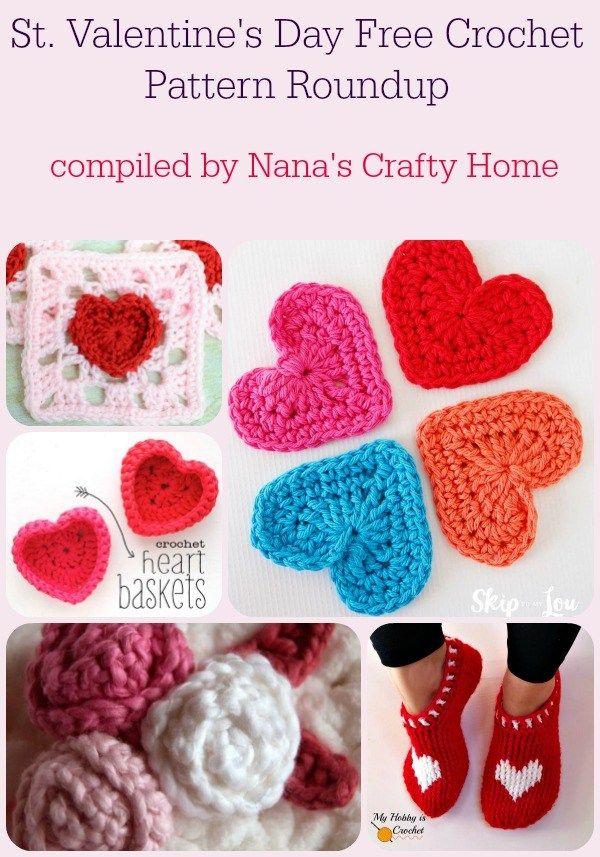 Valentines Day Free Crochet Patterns Roundup By Crochet Pattern