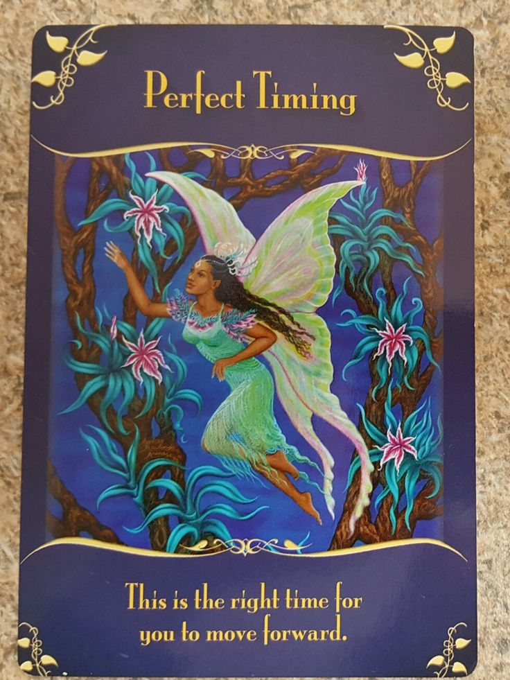 The Fairies want you too know that the time is right for you to make those changes and take those steps towards your goals.  Everything is lining up for you and doors are opening, so don't put it off any longer!  #fairies #angels #guidance #oracle
