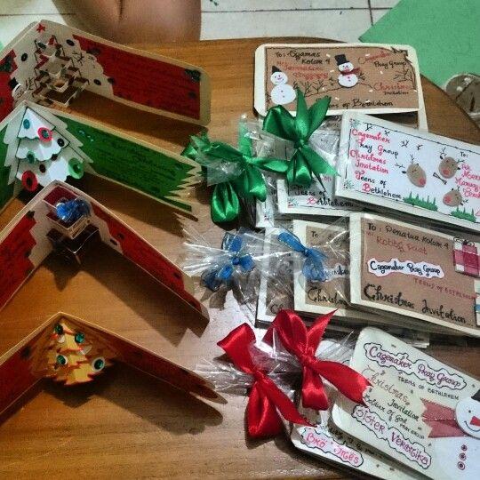 christmas cards invitation