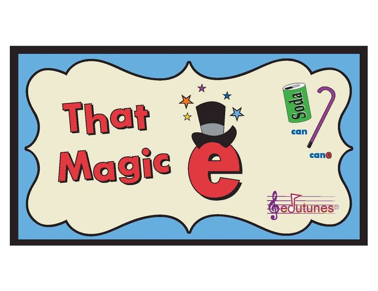 """That Magic E"" Phonics Song: The ENTIRE Edutunes Song for FREE!"