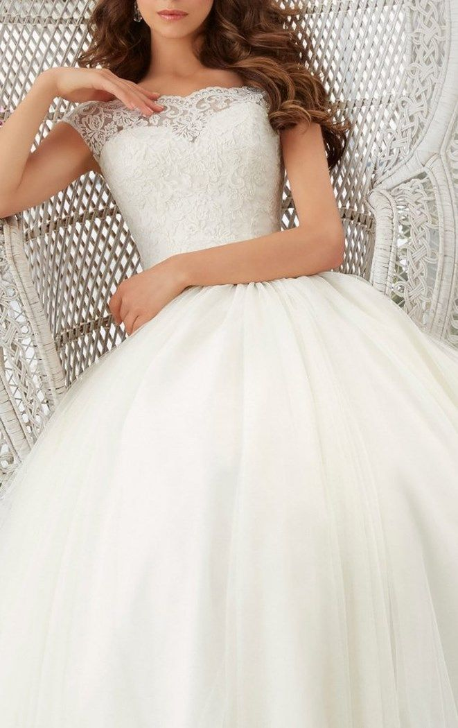 Simple Long A-Line Cap Sleeve Train Lace Wedding Dress - Cute Dresses. More at http://www.cutedresses.co/product/simple-long-a-line-cap-sleeve-train-lace-wedding-dresses/