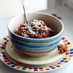 Chocolate-coconut millet by ALB
