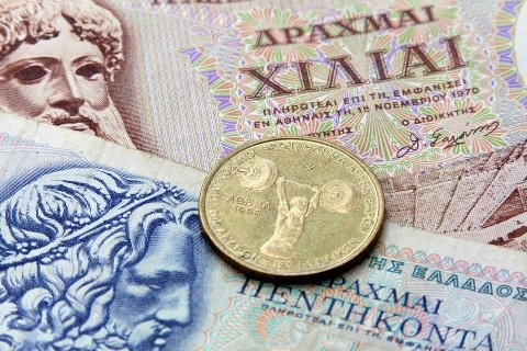 ... old greek currency