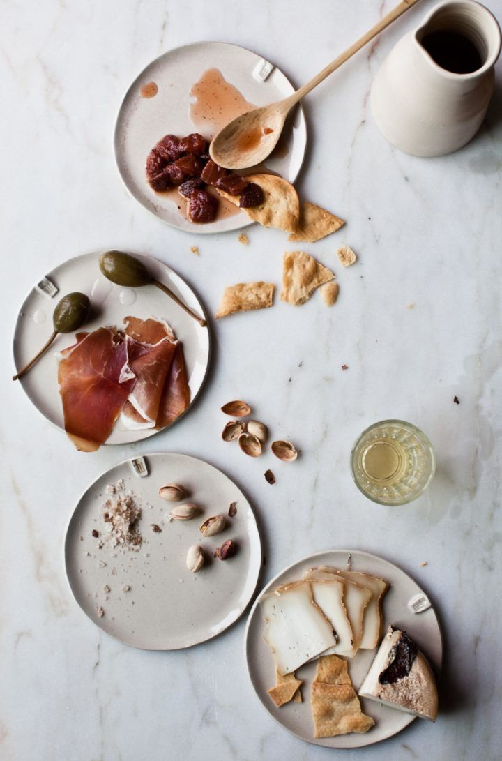 Pretty happy hour spread... Simple Mills Fine Ground Sea Salt Crackers would be the perfect accompaniment!