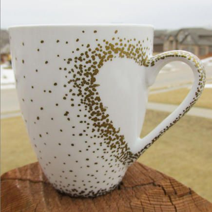 Celebrate your big day with an even bigger mug for each of your bridesmaids.