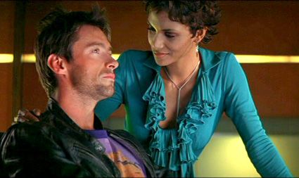 Hugh Jackman and Halle Berry in Swordfish (2001). The film never really gets going and is ultimately a huge let down.