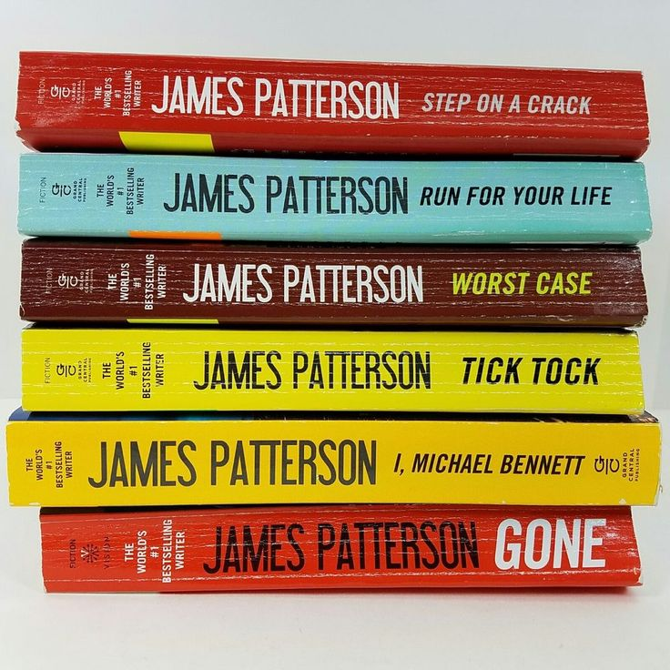 James Patterson Michael Bennett Series #1-6 Gone Step On A Crack Worst Case PB