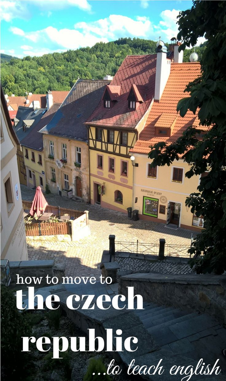 How to Move to the Czech Republic to Teach English - everything you need to know & the costs to prepare yourself for! #teachingESL #TEFL