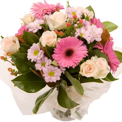 A stunning round bouquet that would be the perfect thank you gift, or just to surprise that special someone