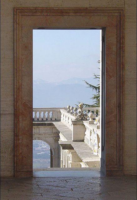 Monte Cassino Abby, Lazio Italy