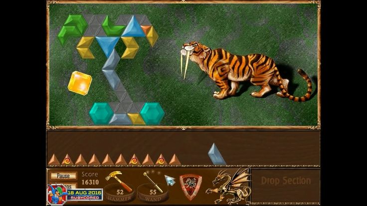Magic Inlay (2004) - 03 of 22: Dragon Land 3 - Sabre-toothed Tiger [720p60] - YouTube