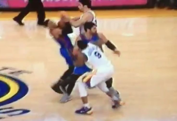 WATCH: Warriors' Zaza Pachulia drops Russell Westbrook with flagrant foul = Golden State Warriors center Zaza Pachulia has a unique role on a team that is dripping with talent: he must play the…..
