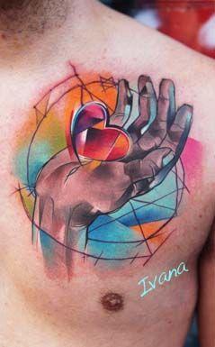 Love tattoo by Ruka @ Modern Body Art