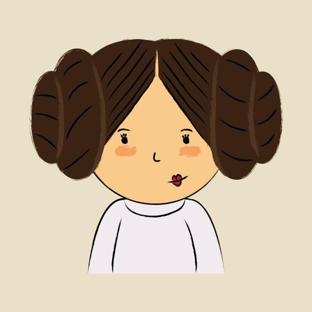 Awesome 'Princess+Leia' design on TeePublic!