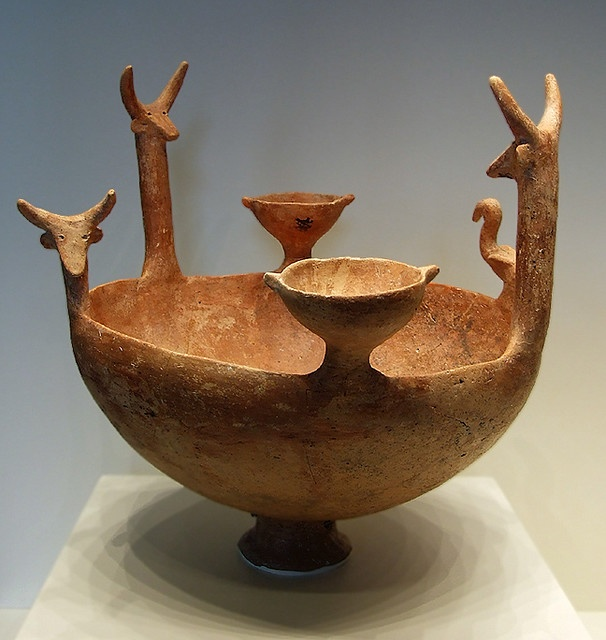 cypriot bowl, 2300-1900 bc