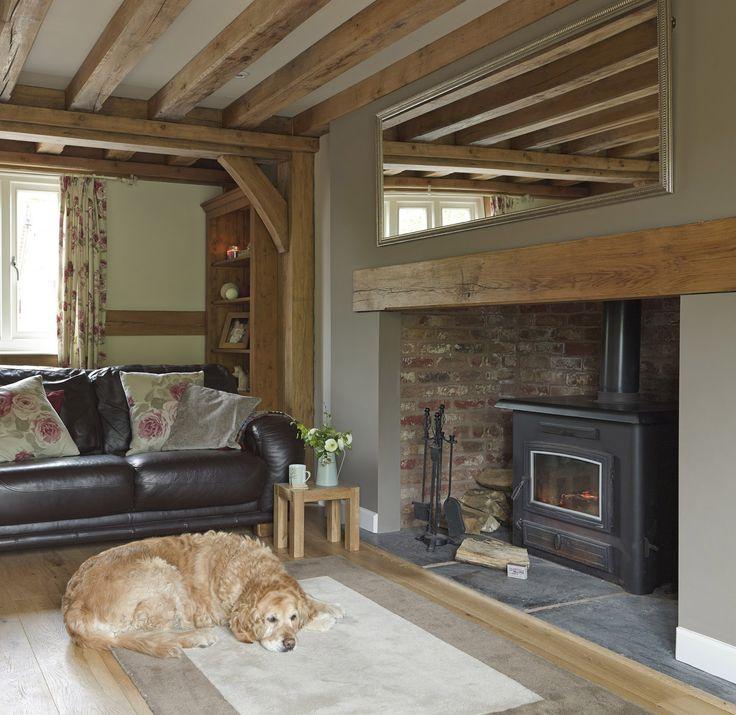 from little acorns.........: weatherboarded oak cottage