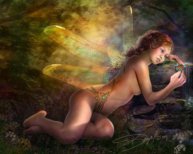 Drazenka Kimpel | Fantasy Art in a Pre-Raphaelite style | Tutt'Art@