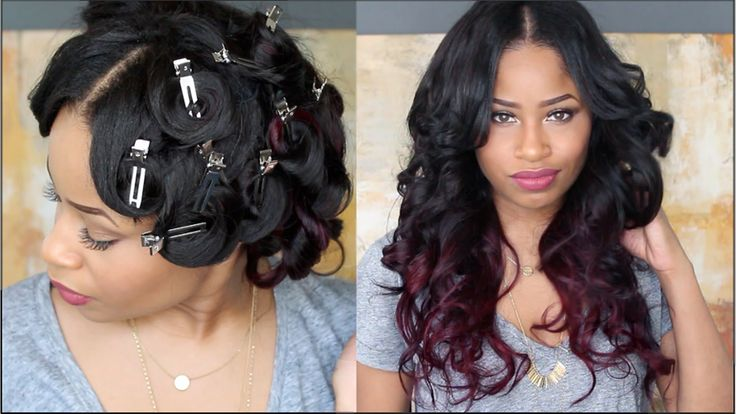 Quick and easy tutorial on how I pin curl my hair for glamorous, bouncy curls! Curls last me about a week or more without using any more heat when re-pinned ...