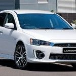 Mitsubishi Lancer 2016 is the car with the high safety.