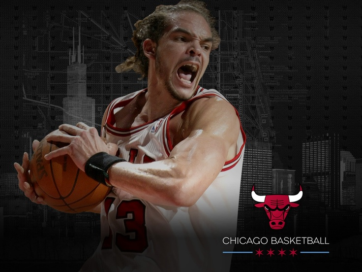 Joakim Noah 2012-13 Chicago Bulls Wallpaper